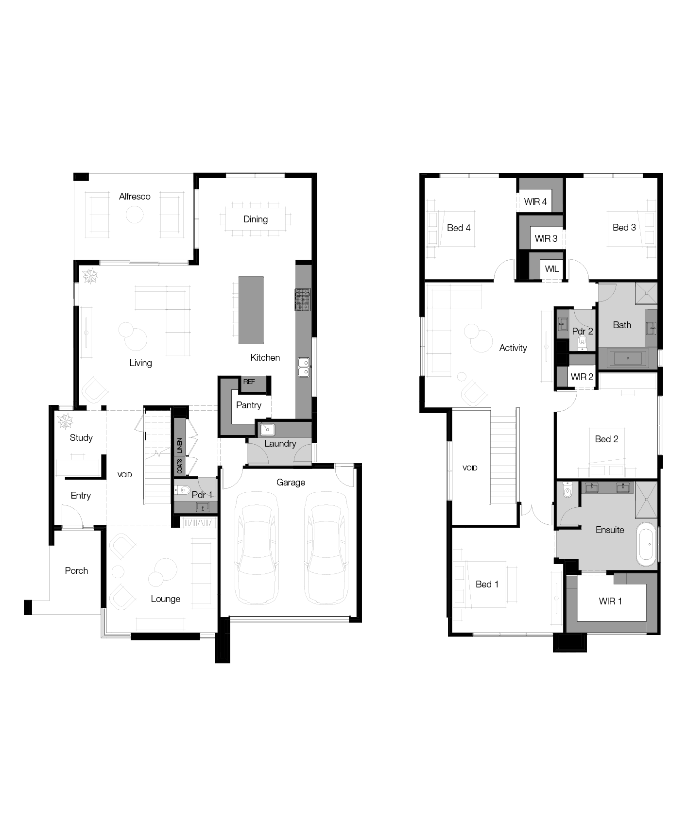 Floor plan for Palermo